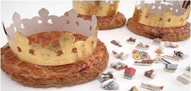 Κοπή Βασιλόπιτας Galette Des Rois