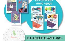 Παρουσίαση βιβλίων των εκδόσεων Trait d'Union - 15 04 2018