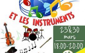 Δημιουργικά Εργαστήρια Γαλλικής Γλώσσας και Πολιτισμού - Je découvre le monde de la musique et les instruments